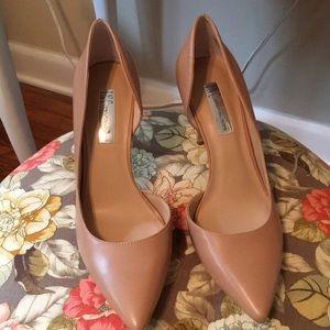 I•N•C Nude heels